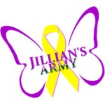 Jillian's Army Butterfly Logo